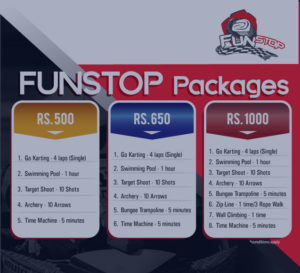 Enjoy the thrills with a package of your choice!